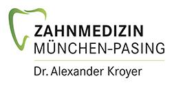 Logo der Zahnarztpraxis Dr. Alexander Kroyer in München-Pasing